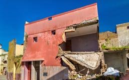 Σπίτια στην πόλη Azemmour, Μαρόκο Στοκ Εικόνες