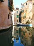 Σπίτια στη Βενετία, Ιταλία Στοκ εικόνα με δικαίωμα ελεύθερης χρήσης