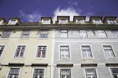 Σπίτια στη Λισσαβώνα στοκ φωτογραφίες