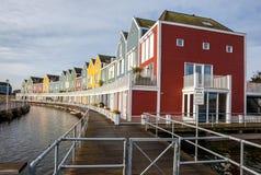Σπίτια στο νερό Στοκ εικόνες με δικαίωμα ελεύθερης χρήσης