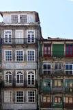 Σπίτια στο Πόρτο Πορτογαλία Στοκ Εικόνες