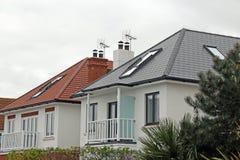σπίτια σύγχρονα Στοκ Εικόνες