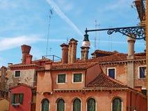Σπίτια της Βενετίας Στοκ Εικόνες