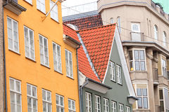 Σπίτια της Κοπεγχάγης Στοκ εικόνα με δικαίωμα ελεύθερης χρήσης