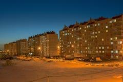 Σπίτια της νέας περιοχής Στοκ φωτογραφίες με δικαίωμα ελεύθερης χρήσης