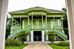 Σπίτια της Ταϊλάνδης που γίνονται από το ξύλο Στοκ φωτογραφία με δικαίωμα ελεύθερης χρήσης