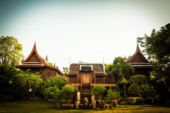 Σπίτια της Ταϊλάνδης Στοκ Εικόνα
