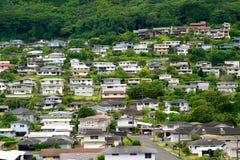 σπίτια της Χαβάης Στοκ Φωτογραφίες