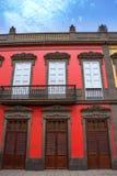 Σπίτια του Λας Πάλμας de θλγραν θλθαναρηα Vegueta Στοκ φωτογραφίες με δικαίωμα ελεύθερης χρήσης