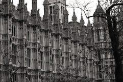 Σπίτια του Λονδίνου του Κοινοβουλίου Στοκ φωτογραφία με δικαίωμα ελεύθερης χρήσης