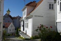 Σπίτια του Μπέργκεν, Νορβηγία Στοκ εικόνες με δικαίωμα ελεύθερης χρήσης