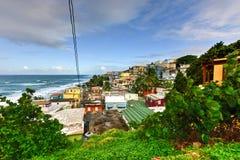 Σπίτια του San Juan, Πουέρτο Ρίκο στοκ εικόνες