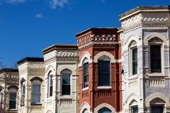 Σπίτια υπόλοιπου κόσμου στο Washington DC Στοκ Φωτογραφία