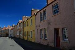 Σπίτια δυτικού Wemyss Στοκ φωτογραφία με δικαίωμα ελεύθερης χρήσης