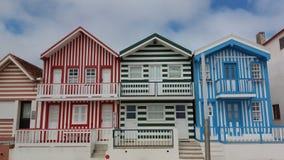 σπίτια χαρακτηριστικά Στοκ φωτογραφία με δικαίωμα ελεύθερης χρήσης