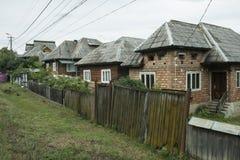 σπίτια χαρακτηριστικά στοκ φωτογραφίες