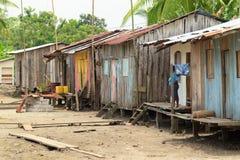 Σπίτια ψαράδων στοκ φωτογραφία
