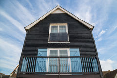 Σπίτια ύφους καλυβών ψαράδων Στοκ φωτογραφία με δικαίωμα ελεύθερης χρήσης