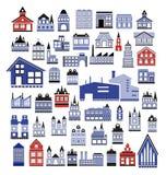 σπίτια Στοκ Φωτογραφία