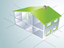 σπίτια διανυσματική απεικόνιση