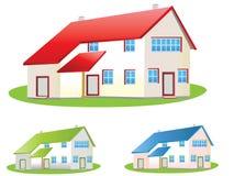 σπίτια ελεύθερη απεικόνιση δικαιώματος