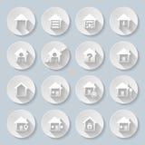 σπίτια Στοκ φωτογραφίες με δικαίωμα ελεύθερης χρήσης