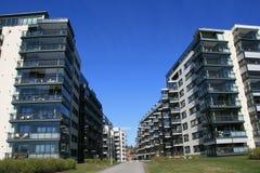 σπίτια Στοκ Φωτογραφίες