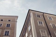 σπίτια Στοκ Εικόνα