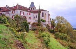 Σπίτια Aquitaine στοκ εικόνες