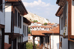 σπίτια beypazari στοκ εικόνα