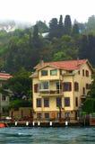 Σπίτια Bosphorus Στοκ φωτογραφία με δικαίωμα ελεύθερης χρήσης