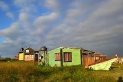 Σπίτια Cabo Polonio Στοκ Φωτογραφία