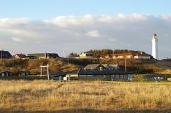 σπίτια hirshals Στοκ Φωτογραφία