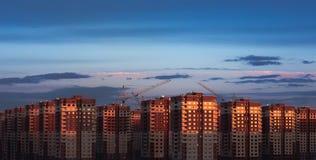 σπίτια multistory στοκ φωτογραφίες με δικαίωμα ελεύθερης χρήσης