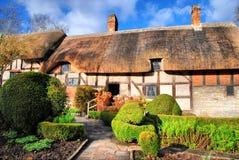 σπίτια s Shakespeare κήπων Στοκ Εικόνες