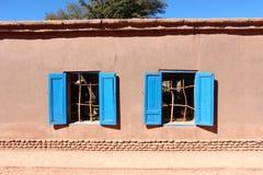 Σπίτια SAN Pedro de Atacama Στοκ Φωτογραφίες