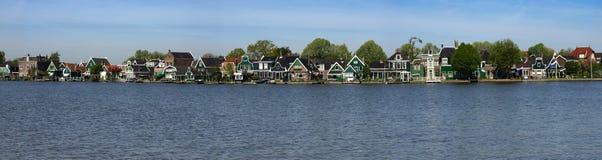 Σπίτια Skans Zaanse Στοκ φωτογραφία με δικαίωμα ελεύθερης χρήσης