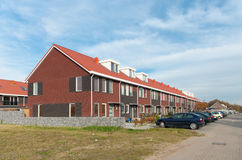 σπίτια terraced Στοκ Εικόνες
