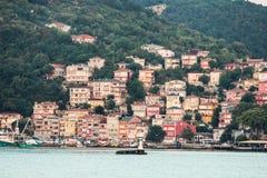 Σπίτια Turkeysh στοκ εικόνα με δικαίωμα ελεύθερης χρήσης