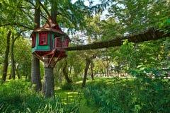Σπίτι δέντρων Στοκ εικόνα με δικαίωμα ελεύθερης χρήσης