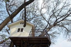 Σπίτι δέντρων Στοκ φωτογραφίες με δικαίωμα ελεύθερης χρήσης