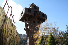 Σπίτι δέντρων στοκ φωτογραφίες
