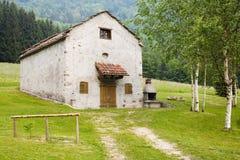 σπίτι αγροτικό Στοκ Φωτογραφίες