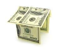 Σπίτι από τα χρήματα στοκ εικόνες με δικαίωμα ελεύθερης χρήσης