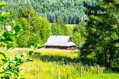 Σπίτι από το δάσος Στοκ Εικόνες