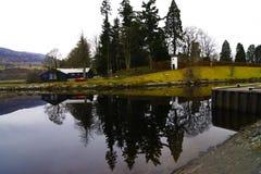 Σπίτι από Noch Ness Στοκ Εικόνα