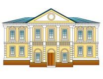 σπίτι αρχιτεκτονικής παλ&a Στοκ φωτογραφία με δικαίωμα ελεύθερης χρήσης
