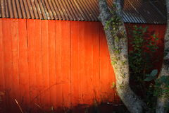 Σπίτι βαρκών σε Frosta, Νορβηγία στοκ εικόνες