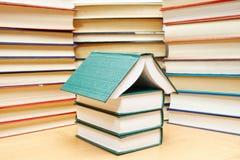 σπίτι βιβλίων Στοκ Φωτογραφίες