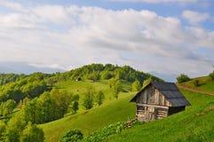 σπίτι βουνοπλαγιών μικρό Στοκ Εικόνες
